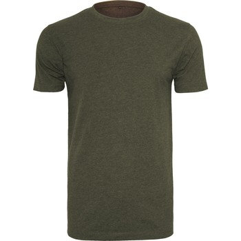 Kleidung Herren T-Shirts Build Your Brand BY004 Olive
