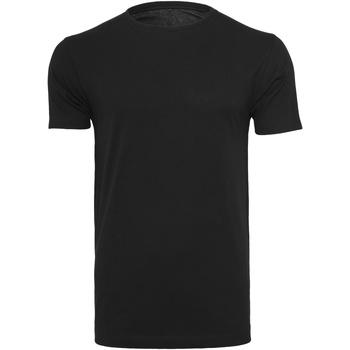 Kleidung Herren T-Shirts Build Your Brand BY005 Schwarz