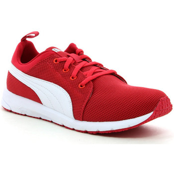 Schuhe Kinder Sneaker Low Puma Carson Runner Jr Rot