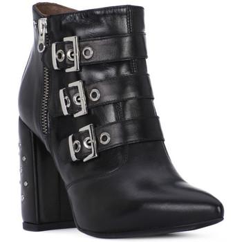 Schuhe Damen Klassische Stiefel Nero Giardini NERO GIARDINI  NAPPA PANDORA Nero