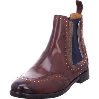Schuhe Damen Stiefel Chelsea Stiefel - Daisy 4 braun