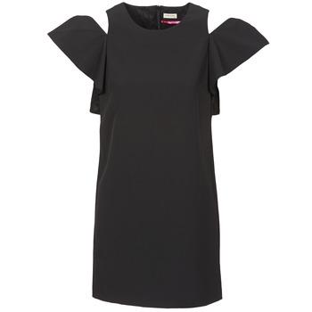 Kleidung Damen Kurze Kleider Naf Naf X-KARLI Schwarz