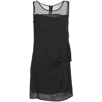Kleidung Damen Kurze Kleider Naf Naf X-LAMO Schwarz