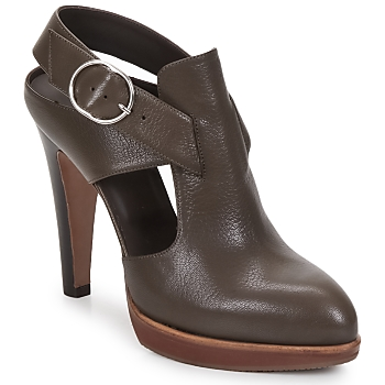 Schuhe Damen Pumps Michel Perry MADRAS braun