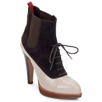 Schuhe Damen Low Boots Michel Perry GLACELLE Dust-Wild-Orchidee