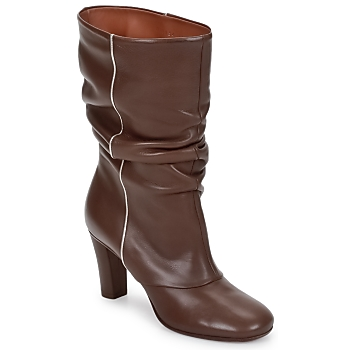 Schuhe Damen Low Boots Michel Perry SAHARA Khaki