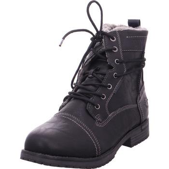 Schuhe Herren Stiefel Stiefelette - 43PE101600 schwarz