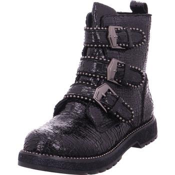 Schuhe Damen Stiefel Stiefelette - JFA938 schwarz