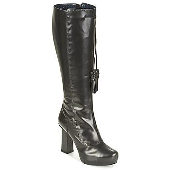 Schuhe Damen Klassische Stiefel Pollini PA2611 Schwarz