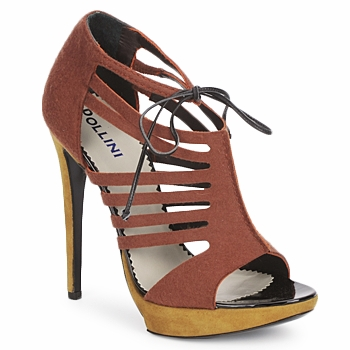 Schuhe Damen Sandalen / Sandaletten Pollini PA1602 Feltor-ruggine