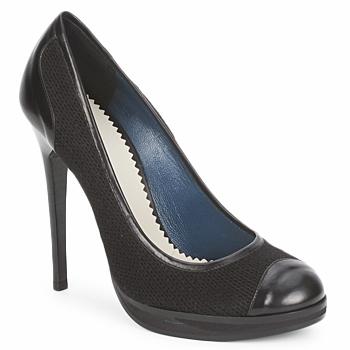 Schuhe Damen Pumps Pollini PA1010 Lima-lana-nero