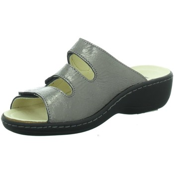 Schuhe Damen Pantoletten / Clogs Longo Pantoletten 1006396 braun