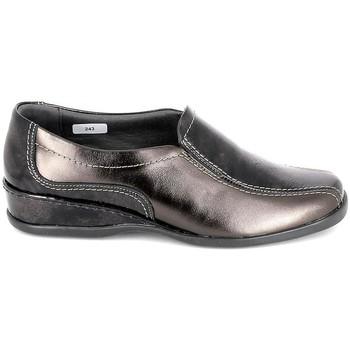 Schuhe Damen Ballerinas Boissy Sneaker 4007 Marron Braun