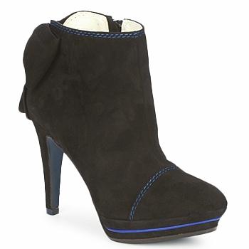 Schuhe Damen Low Boots Tiggers MEDRAM Schwarz