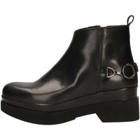 Schuhe Damen Low Boots Blu Rose TR872/512 BLACK