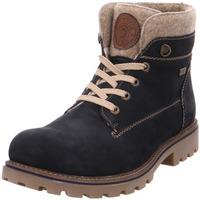 Schuhe Damen Stiefel Stiefelette - D7476-14 pazifik/wood/chestnut