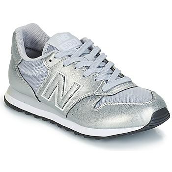 Schuhe Damen Sneaker Low New Balance GW500 Silbern