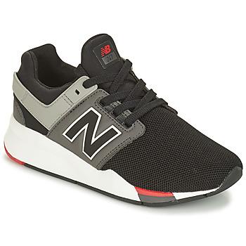 Schuhe Jungen Sneaker Low New Balance GS247 Schwarz