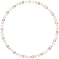 Uhren & Schmuck Damen Collier Blue Pearls BPS K028 W Multicolor