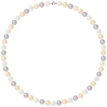 Uhren & Schmuck Damen Collier Blue Pearls BPS K028 W - OB Multicolor