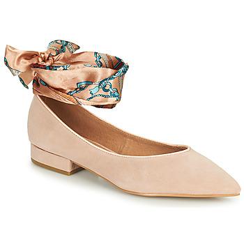Schuhe Damen Ballerinas Karston KEBEC Rose