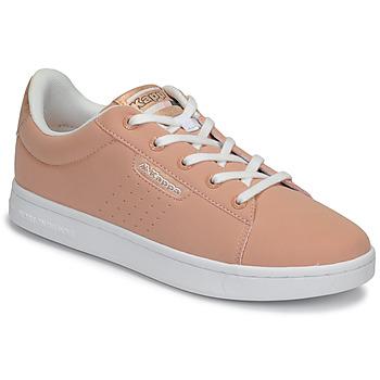 Schuhe Mädchen Sneaker Low Kappa TCHOURI LACE Rose / Weiss