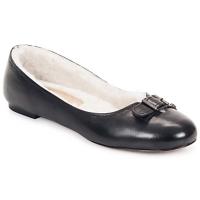 Schuhe Damen Ballerinas Keyté ASTOR Schwarz