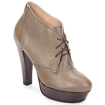 Schuhe Damen Ankle Boots Keyté ETRIOU Maulwurf