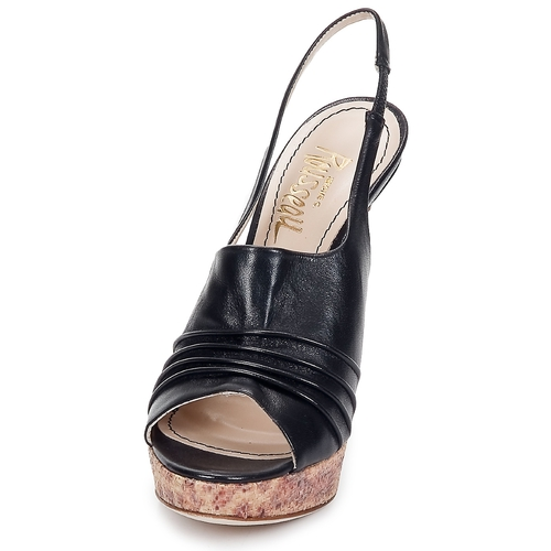 Jerome C. Rousseau Schuhe CAMBER Schwarz  Schuhe Rousseau Sandalen / Sandaletten Damen 348 4a1fd0