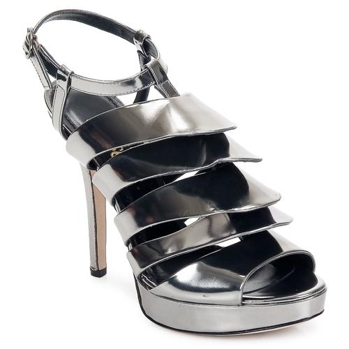 Jerome C. Rousseau QUORRA Silbern Schuhe Sandalen / Sandaletten Damen 282,50