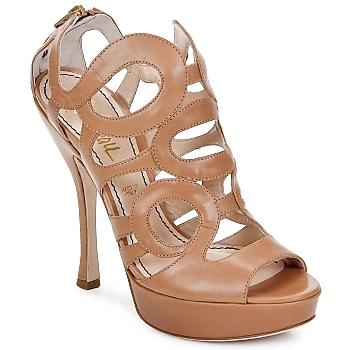 Schuhe Damen Sandalen / Sandaletten Jerome C. Rousseau ISY Camel