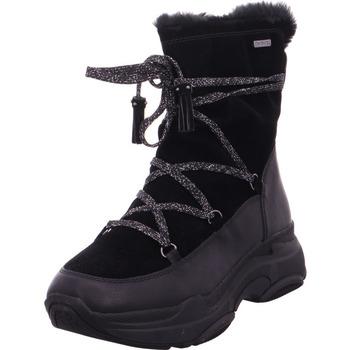 Schuhe Damen Schneestiefel Stiefel Woms Boots BLACK COMB