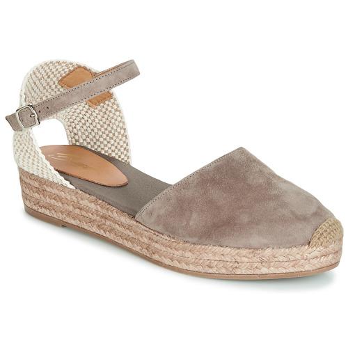 Betty London ANTALA Grau  Schuhe Sandalen / Sandaletten Damen 43,99
