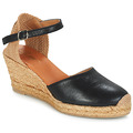 Schuhe Damen Sandalen / Sandaletten Betty London CASSIA Schwarz