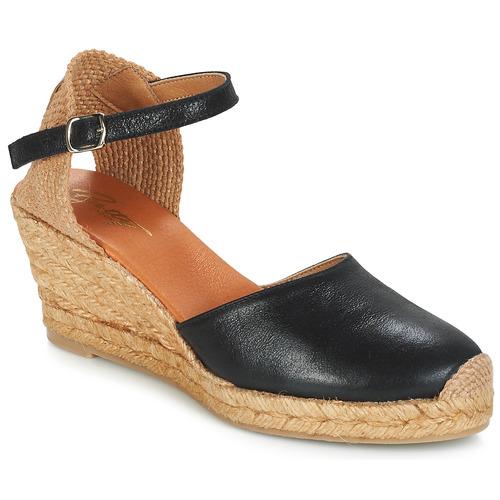 Betty London CASSIA Schwarz  Schuhe Sandalen / Sandaletten Damen 47,99