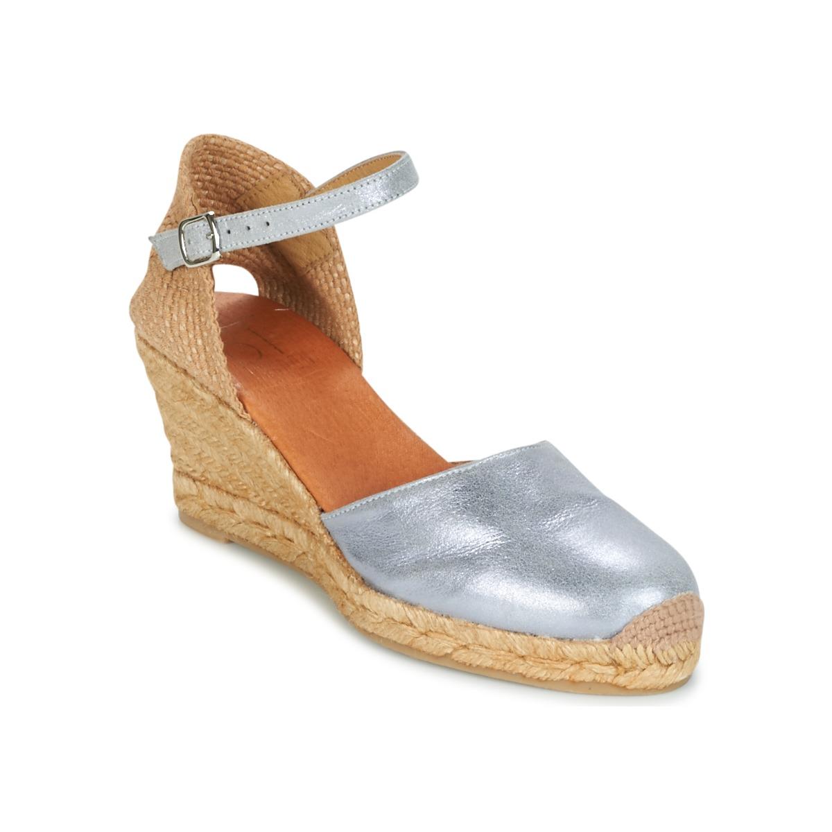 Betty London CASSIA Silbern - Kostenloser Versand bei Spartoode ! - Schuhe Sandalen / Sandaletten Damen 47,99 €