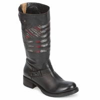 Schuhe Damen Boots Strategia ENRO Schwarz