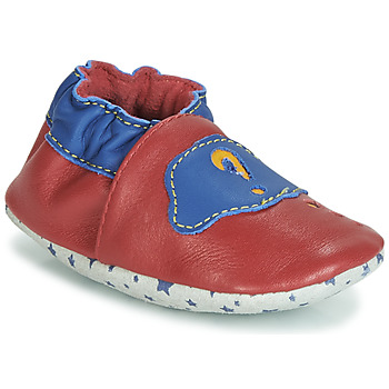 Schuhe Kinder Boots André LES BULLES Rot