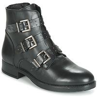 Schuhe Damen Boots André MATTHEW Schwarz