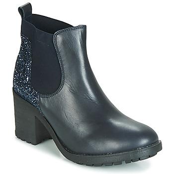 Schuhe Damen Boots André MARY Blau