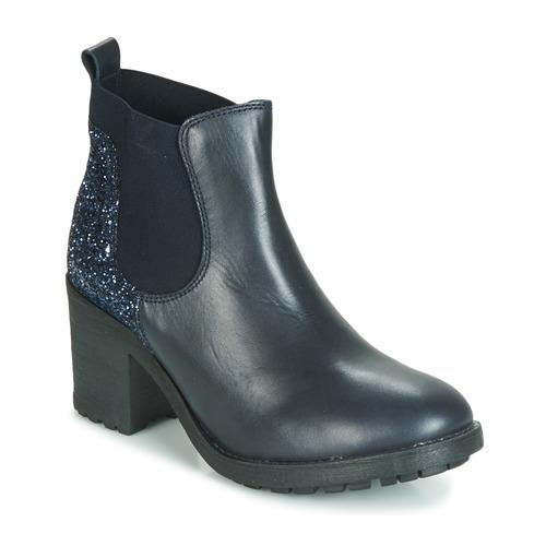 André MARY Blau - Kostenloser Versand       - Schuhe Stiefel Damen 87,20
