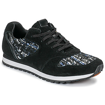 Schuhe Damen Sneaker Low André MARGO Schwarz