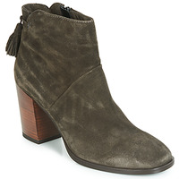 Schuhe Damen Boots André CARESSE Grau