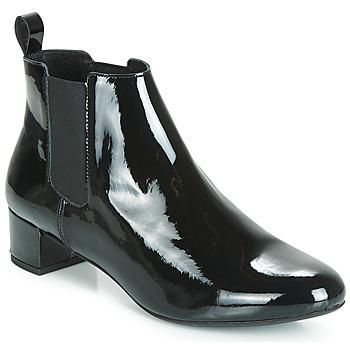 Schuhe Damen Boots André PAOLA Schwarz
