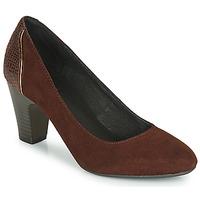 Schuhe Damen Pumps André PHILIPINE Bordeaux