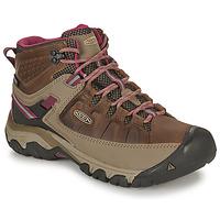 Schuhe Damen Wanderschuhe Keen TARGHEE III MID WP Braun / Rose