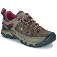 Schuhe Damen Wanderschuhe Keen TARGHEE III WP Braun / Rose