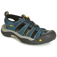 Schuhe Herren Sportliche Sandalen Keen NEWPORT H3 Marine