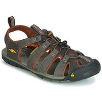 Schuhe Herren Sportliche Sandalen Keen MEN CLEARWATER CNX Grau / Braun