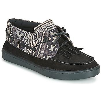 Schuhe Damen Sneaker Low André MARGUERITE 8 Schwarz